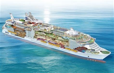 most biggest boat in the world garfield the quot oasis of the seas quot the biggest boat of all