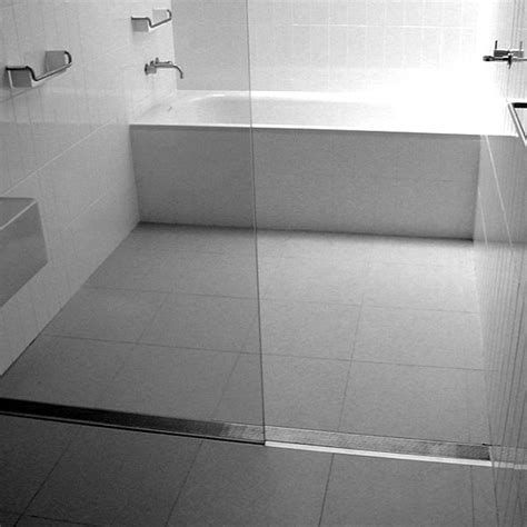 How To Install Bathtub Doors Curbless Shower Trend In Bathroom Remodeling