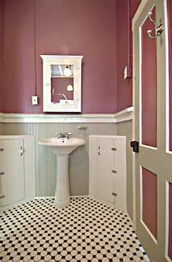 Wainscoting Tile Bathroom by Beadboard On Bathroom Walls Jimhicks Yorktown Virginia