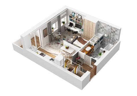 Arredare Monolocale 40 Mq by Come Arredare Una Casa Di 40 Mq 5 Progetti Di Design