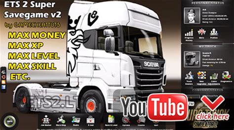 euro truck simulator 2 100 save game mod and patch 1 3 1 super save game v2 ets 2 mods