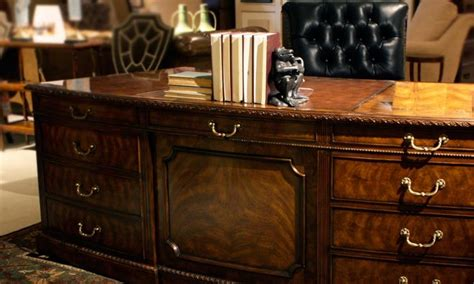antique white executive desk mahogany executive desk leather top executive desk high