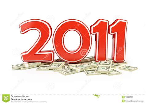 new year price price new year 2011 and gifts stock photo