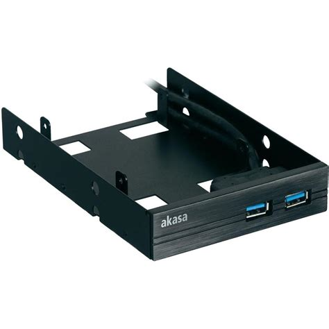 Front Panel 2 2 ports usb 2 0 front panel slide in ssd hdd adapter