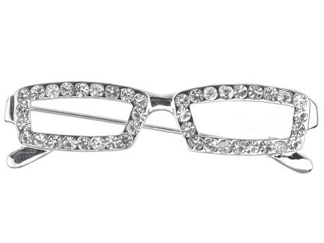 uk school clear rhinestone reading glasses
