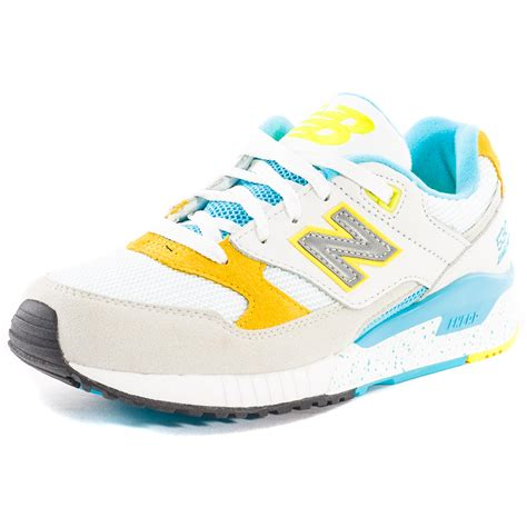 new balance w530 womens leather mesh white multicolour