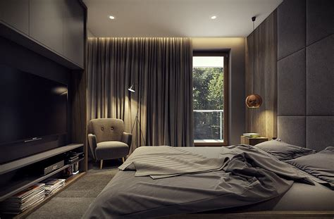 natural bedroom dramatic interior architecture meets elegant decor in