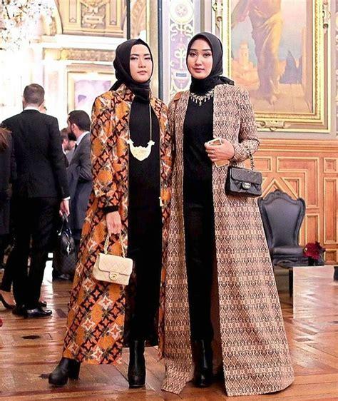 Gamis U Pesta 35 model baju batik untuk pesta pernikahan terbaru 2018
