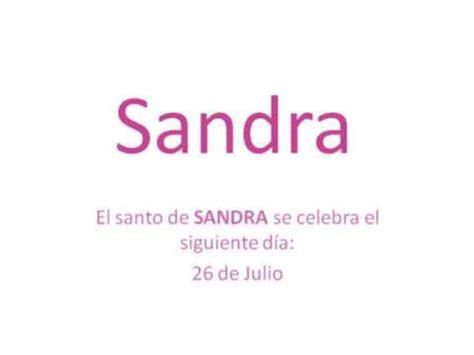 el significado de nombre sandra origen y significado del nombre sandra youtube