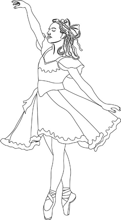clara nutcracker coloring page www imgkid com the