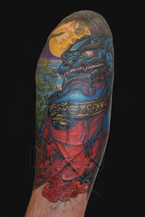 under the needle tattoo asian style fu cover up by josh sharpe at the
