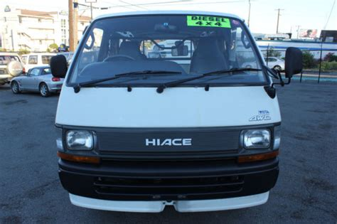 japanese vehicles toyota toyota hiace japanese vehicle specifications autos post