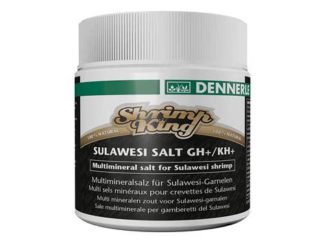 Dennerle Shrimp King Sulawesi Salt Ghkh conditioner creveti dennerle shrimp king sulawesi salt 200g nevertebrate ro