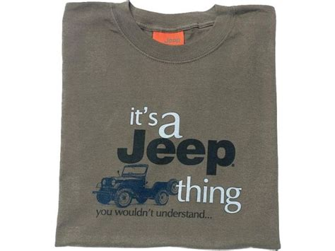 Jeep Garments Jeep Clothing Jps513l It S A Jeep 174 Thing Sleeve