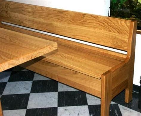 tavoli con panca panca in legno fai da te