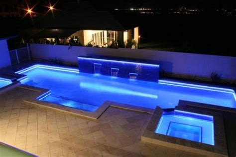 led strip lights outdoor use pool home design ideas