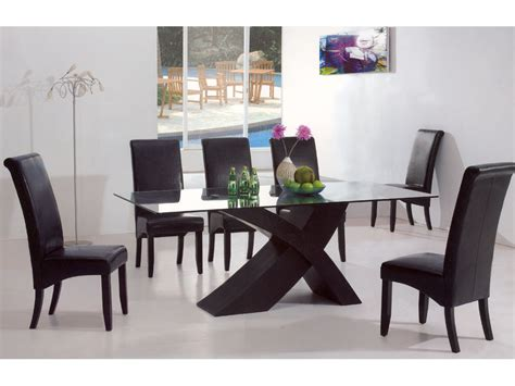 furniture appealing modern dining tables with color