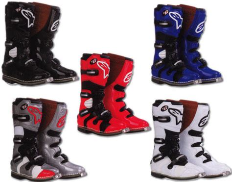 alpinestars tech 6 motocross boots alpinestars tech 6 picture 90853 motorcycle news top