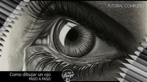 imagenes de ojos realistas para dibujar como dibujar un ojo realista a l 225 piz paso a paso i how to