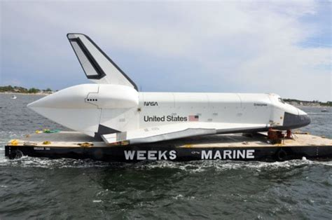 intrepid boat decals space shuttle enterprise damaged at sea in nyc intrepid move