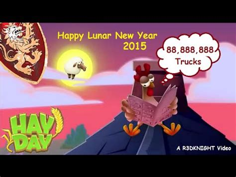 lunar new year date 2015 hay day lunar new year 2015 truck event