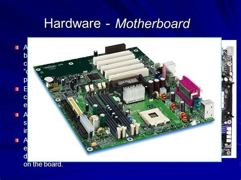 motherboard tutorial powerpoint presentation computer hardware basics ppt video online download