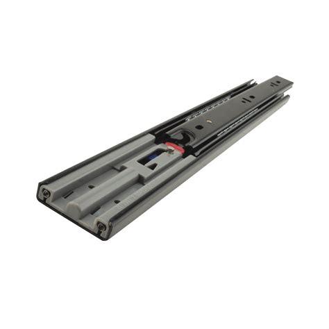 motion 45 5mm bearing drawer runner soft extension 350mm black