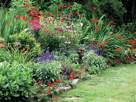 Perennial Flower Garden Design Plans Planting A Perennial Garden Design Best Idea Garden