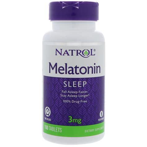 Natrol Melatonin Tr 5 Mg 100 Caps natrol melatonin time release 3 mg 100 tablets iherb