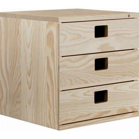 cassettiere in legno grezzo astigarraga cassettiera 3 cassetti in pino grezzo shop