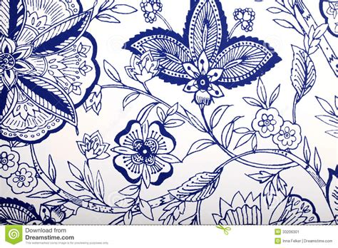 vintage wallpaper blue and white vintage wallpaper with vignette pattern stock image