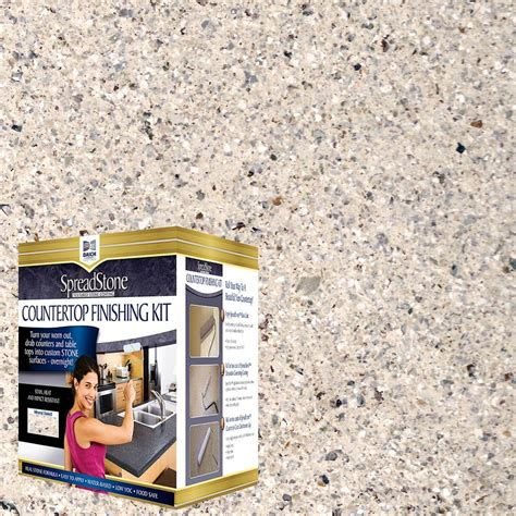 Spreadstone Countertop Refinishing Kit by Daich Spreadstone Mineral Select 1 Qt Oyster Countertop