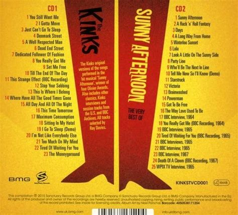 kinks best of the kinks afternoon the best of the kinks 2