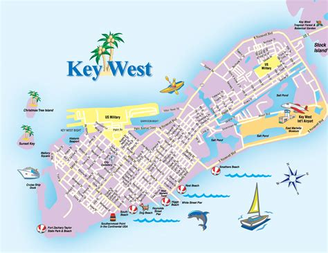 Printable Map Of Key West