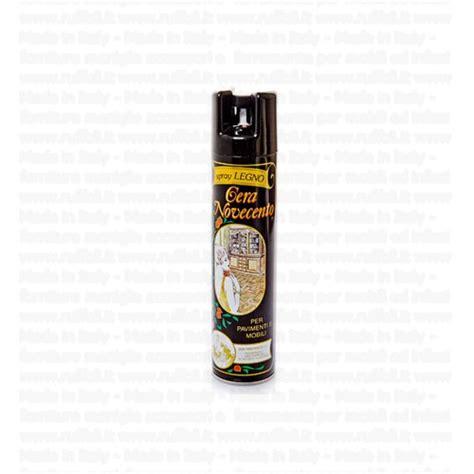 cera mobili legno cera per legno novecento spray 400 ml ruffoli