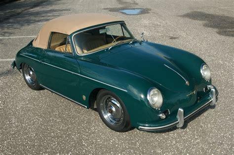 dark green porsche 1958 porsche 356 a 1600 s convertible amelia island