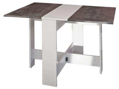 table de cuisine pliante 141 table de cuisine pliante sishui coloris blanc b 233 ton