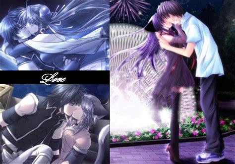 imagenes anime love kiss emo love kiss anime drawings kissing