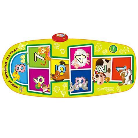Playmat Bermain Animal Hopscotch Baterai 8 sunlin