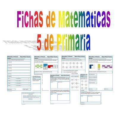cuestionarios de asignaturas de quinto de primaria m 225 s de 1000 ideas sobre matem 225 ticas de sexto grado en