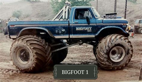 1979 bigfoot monster truck 17 best images about old monsters on pinterest