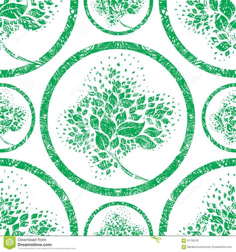 pattern grunge vector vector seamless floral grunge pattern stock vector image