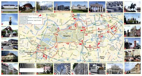 tourist map of central large tourist map of central part of berlin city vidiani