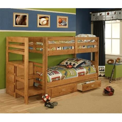 Bunk Beds For Boys With Stairs Pinterest The World S Catalog Of Ideas