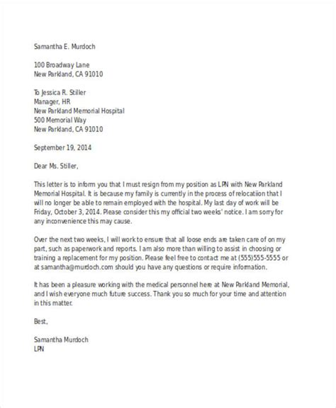 Resignation Letter Due To Sickness by Resignation Letter Due To Illness No Notice 28 Images Sle Best Letter Of Resignation 9 Exles