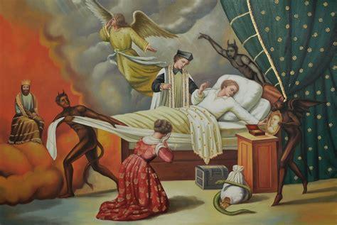 imagenes surrealistas de la muerte arte sacro la muerte del justo y el pecador
