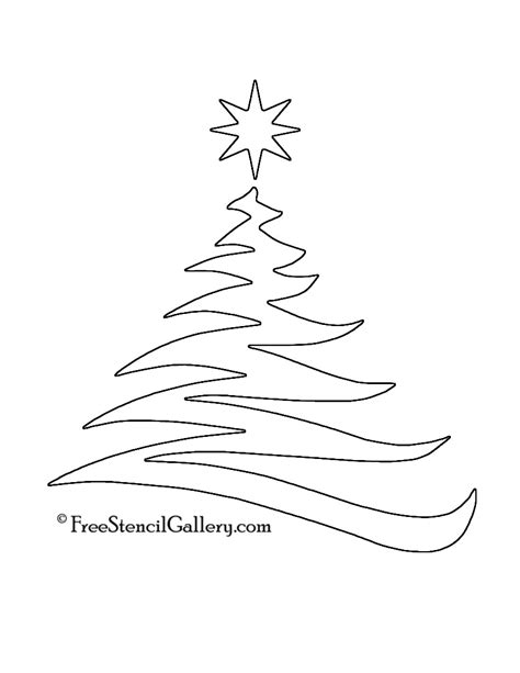 christmas tree stencil printable 4 best images of tree stencil printable tree stencil to print free