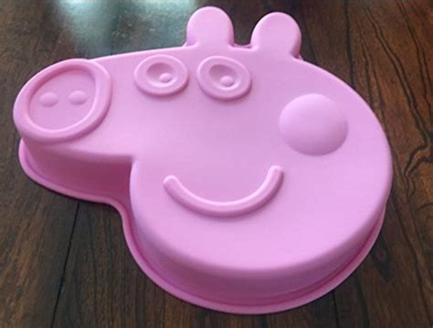peppa pig silicone birthday cake pan chocolate candy mold buy   uae grocery