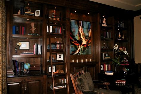 classic home library decor ansa interior designers classic sophisticated home library office robeson design