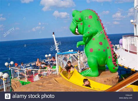 norwegian cruise kids kids having fun in t rex kid s pool norwegian dawn cruise